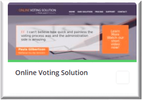 Online Voting Solution