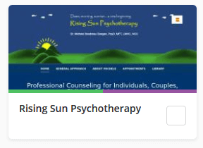 Rising Sun Psychotherapy
