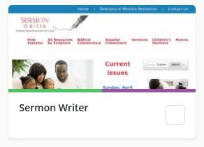 Sermon Writer