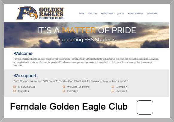 Ferndale Golden Eagle Booster Club