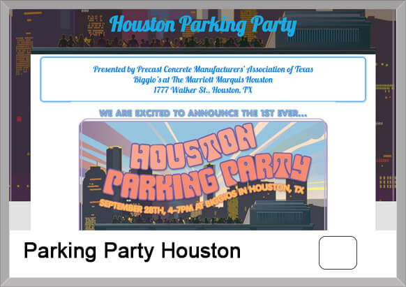 Parking Party Houston