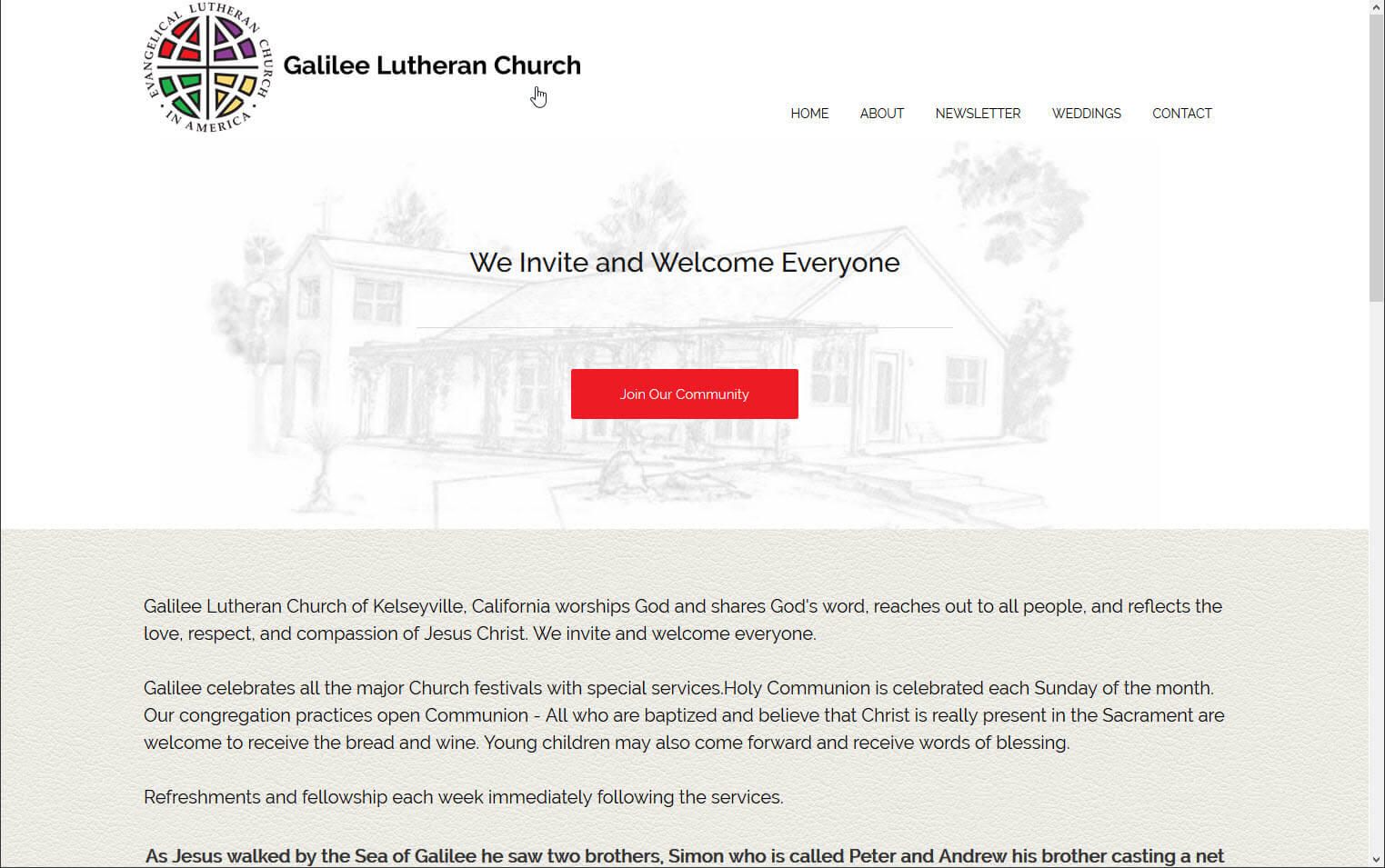 Galilee Lutheran Church