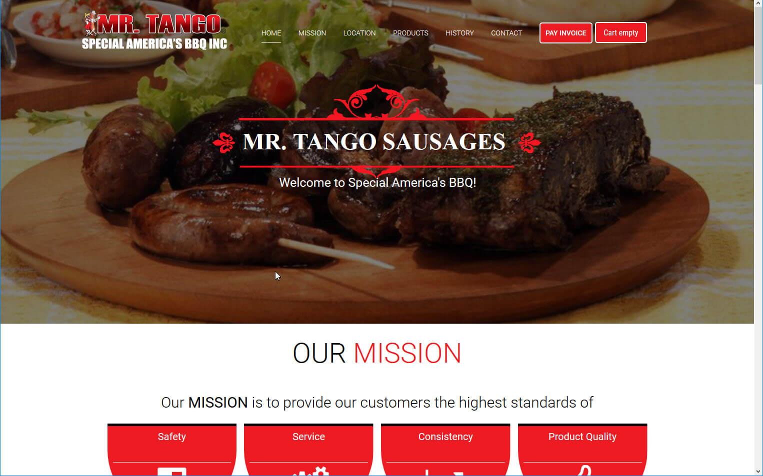 Mr. Tango Sausages