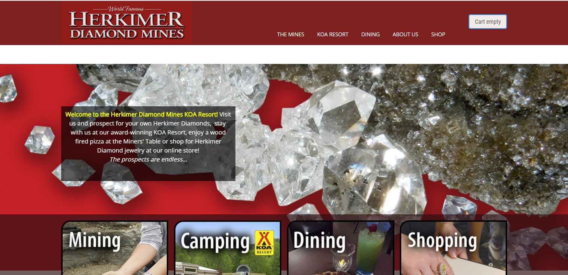 Herkimer Diamonds Mines