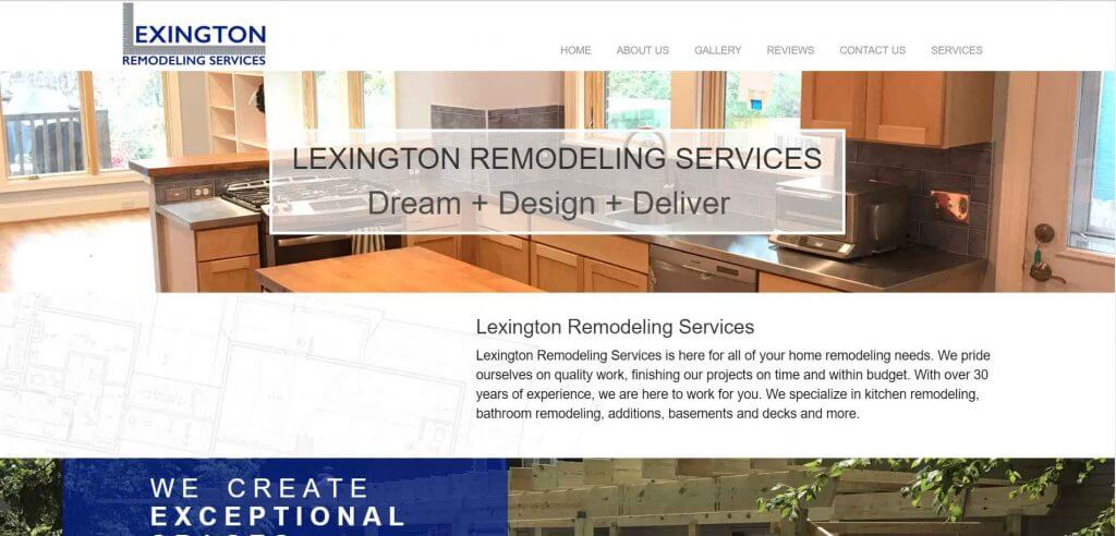 Lexington Remodeling Services