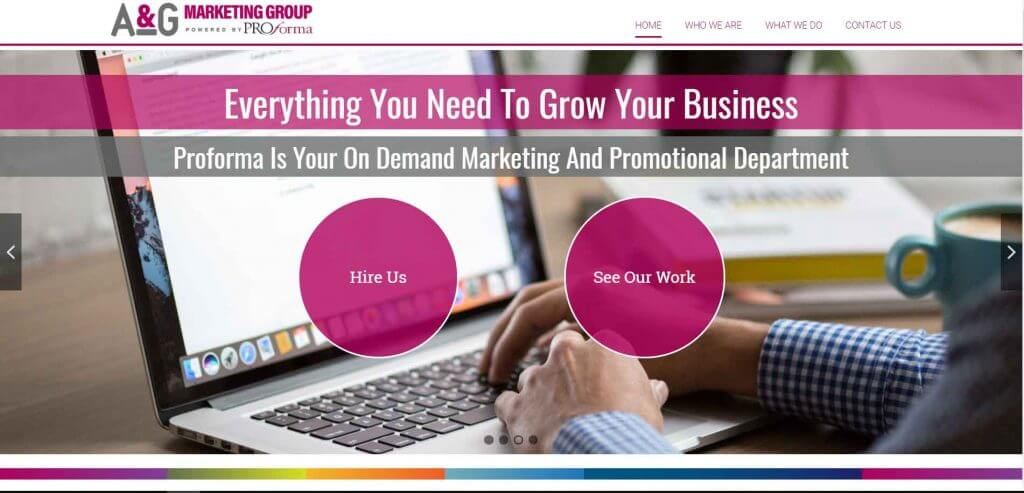 A & G Marketing Group proforma