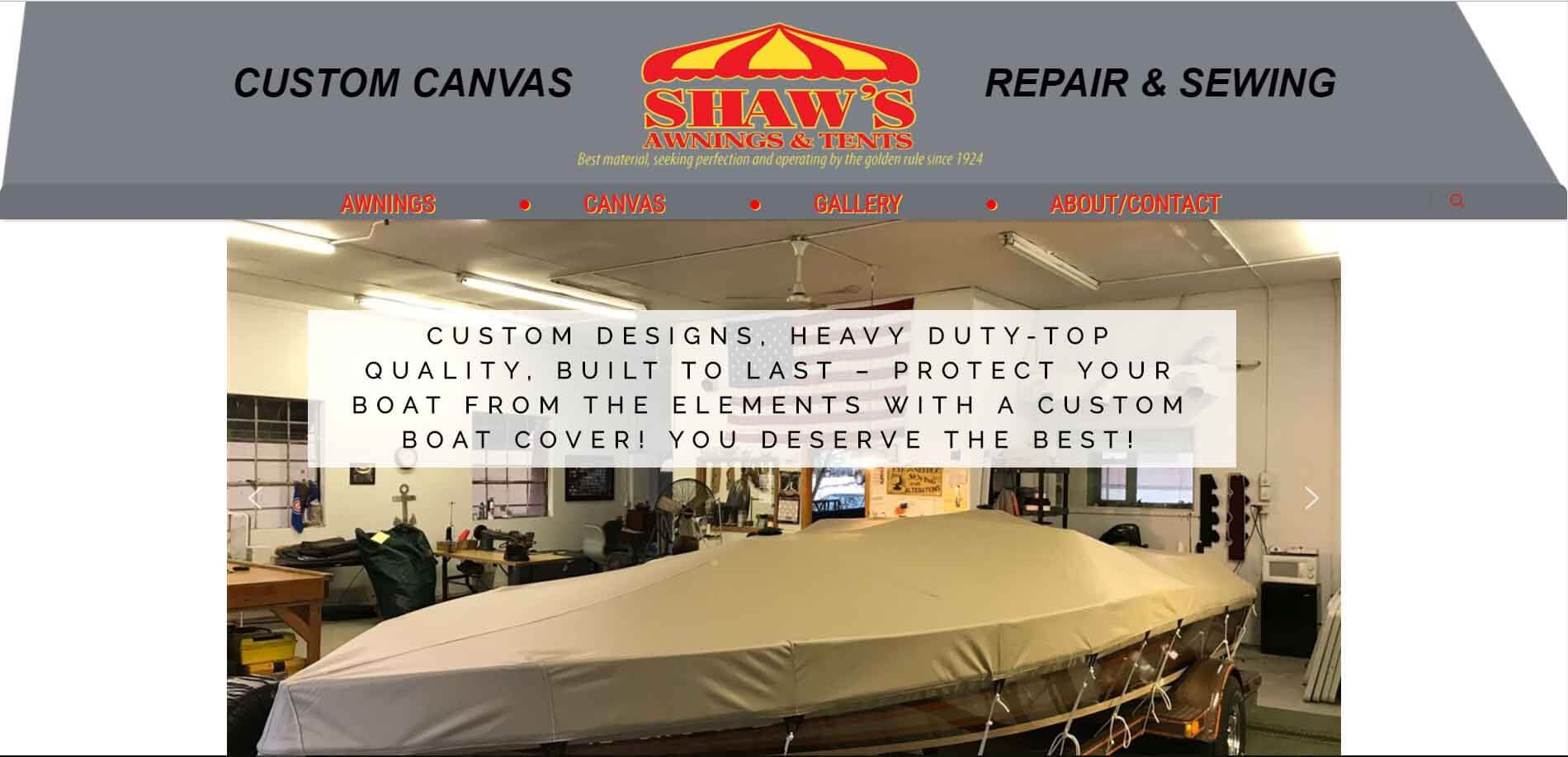Shaw's Awnings And Tents